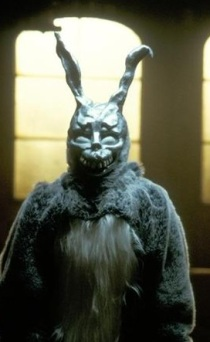 The utterly creepy Frank from Donnie Darko.