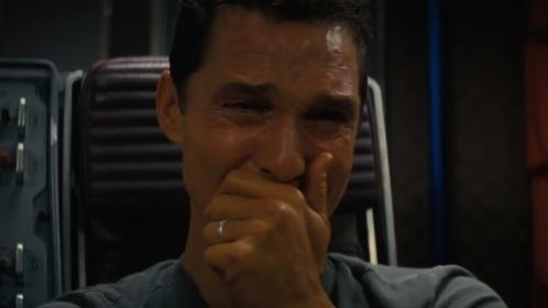 matt crying